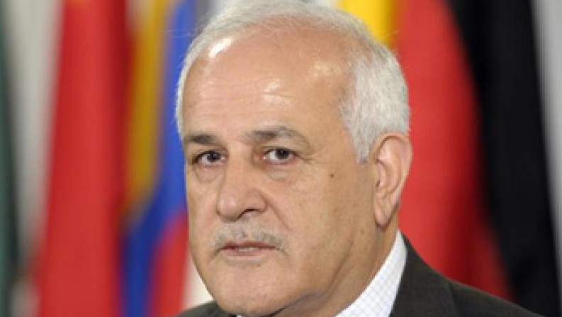 Riyad Mansour, ambassadeur palestinien aux Nations unies. (Crédit: United Nations Media Center)