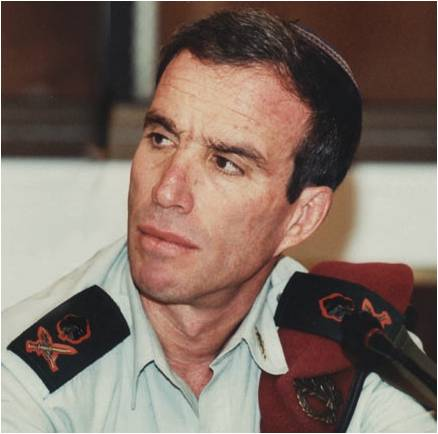 As an officer, Elazar Stern believed the role of the military went beyond defense (Courtesy of Elazar Stern)