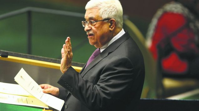 Mahmoud Abbas.  getty images