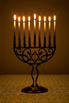 Hanukkah: one of the most light-hearted holidays of the Jewish calendar. Getty Images