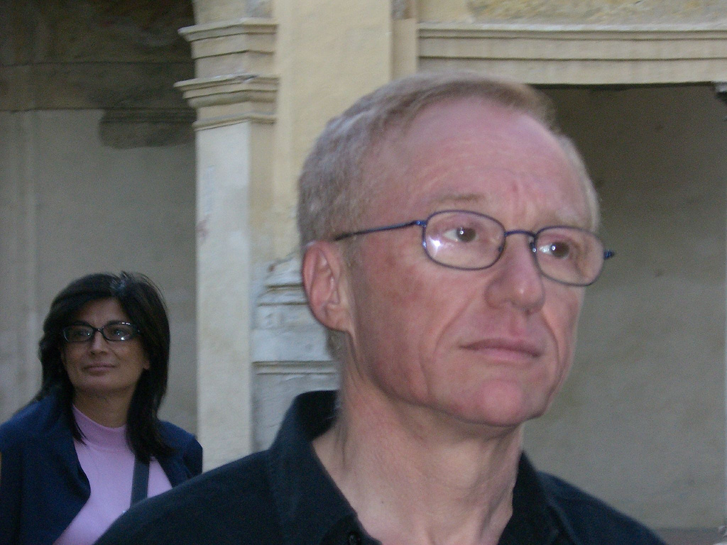 Israeli author David Grossman (photo credit: CC BY-SA torre.elena, Flickr)