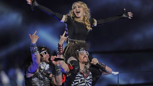 Madonna performing during last year's Super Bowl; the game is often the year's most-watched television production. Getty Images