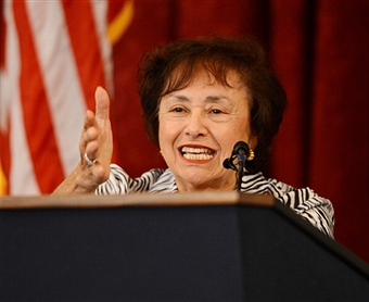 Congresswoman Nita Lowey is taking the top spot at the House's Appropriations Committee. Getty Images