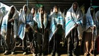 Jews gather in November at a synagogue established by the Jewish Agency in Ethopia. Getty Images