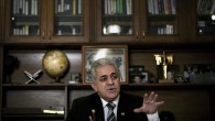Egyptian opposition leader Hamdeen Sabahi in his office in Cairo, Egypt, Monday, Dec. 24, 2012. (photo credit: Nasser Nasser/AP)