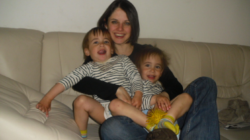 British-born Beth Schlesinger is battling for custody of her twin sons, Samuel and Benjamin, after her Austrian husband alleged she was mentally ill -- a claim later rejected in two psychological evaluations. (Courtesy of Beth Schlesinger)