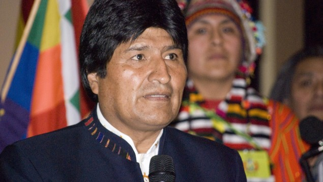 US legislators have asked Bolivian President Evo Morales to intervene in a case that has resulted in corruption charges against his own officials. (Photo credit: CC BY/Sebastian Baryli via Flickr.com)
