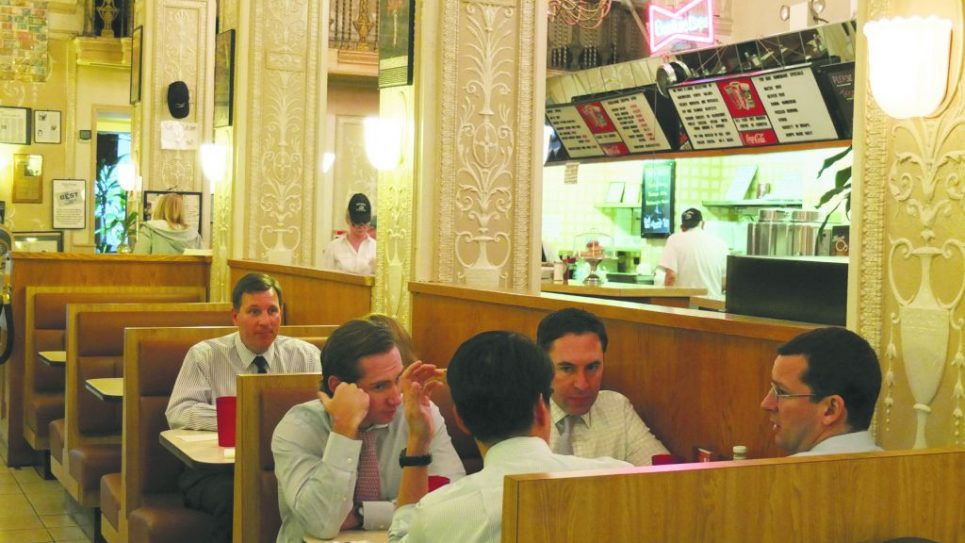 Counter culture: Scenes from the Edison Café, the luncheonette with tearoom touches. michael daTikash