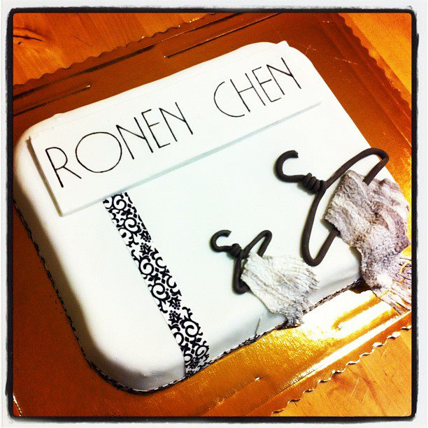 A Ronen Chen fan made this cake for him (Courtesy Ronen Chen)