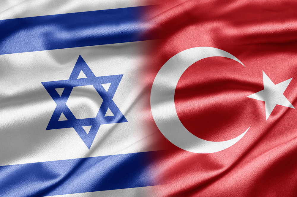 Image result for Turkish-Israeli FLAG