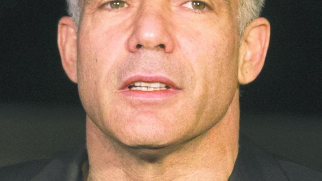 Yair Lapid: Has made restarting peace talks a condition for joining the government. Getty Images
