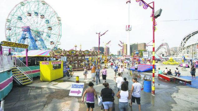 Many residents of Coney Island, are working to keep a casino out of the area .