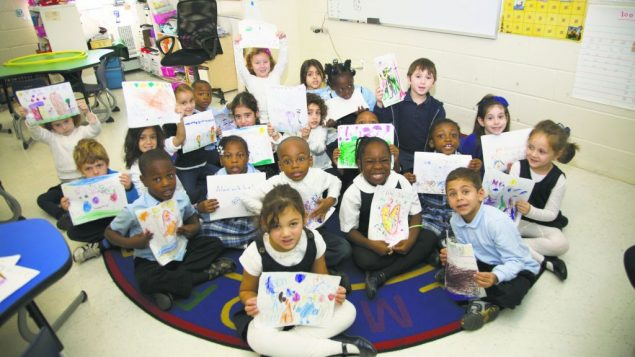 Brooklyn's Hebrew Language Academy Charter School, is racially and ethnically mixed.
