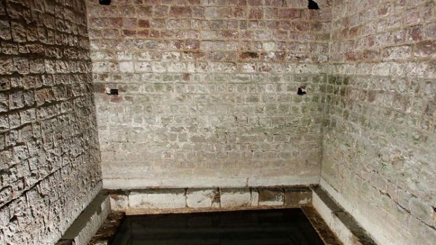 The mikveh in Speyer, Germany, where Jews settled in the 11th century. Getty Images