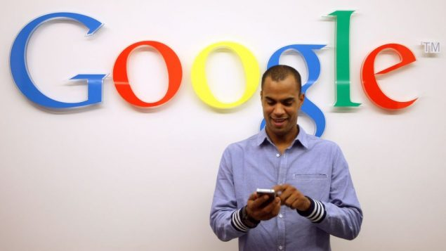 A guest at the party opening Google's offices in Berlin. Getty Images