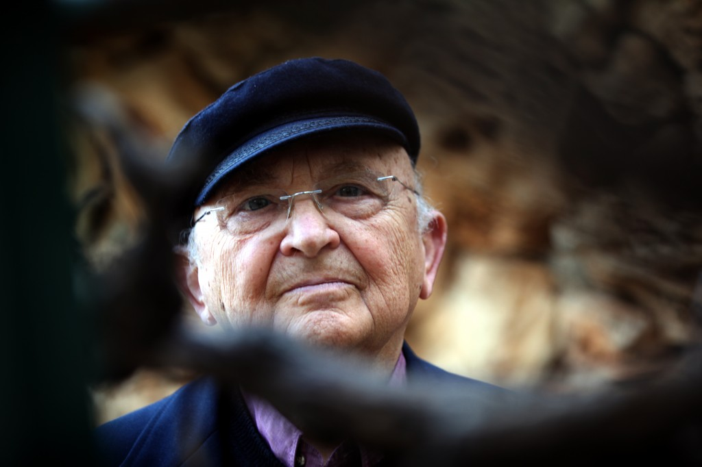 Israeli novelist Aharon Appelfeld (photo credit: Yossi Zamir/Flash90)