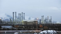 Iran&#039;s heavy water nuclear facilities near the central city of Arak 150 miles (250 kilometers) southwest of Tehran. (photo credit: AP/ISNA,Hamid Foroutan, File)
