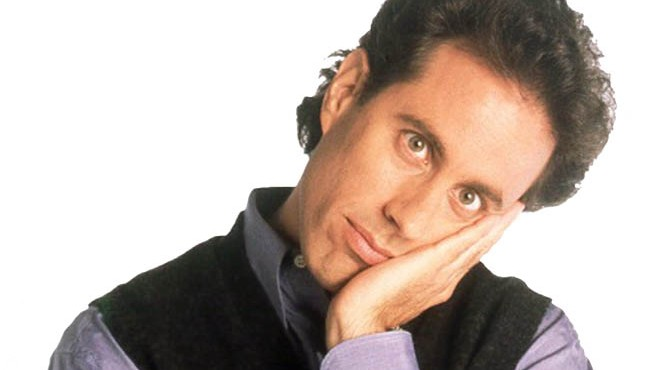 Jerry Seinfeld (photo: Courtesy)