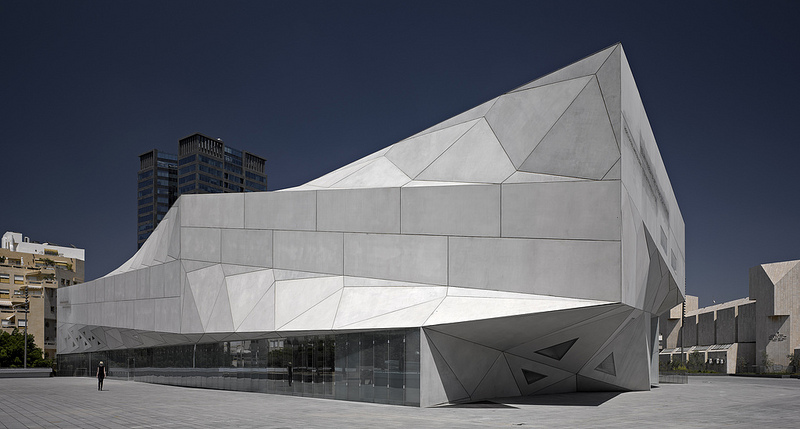 A look at the Amir wing of the museum (Courtesy Israel Consulate General)