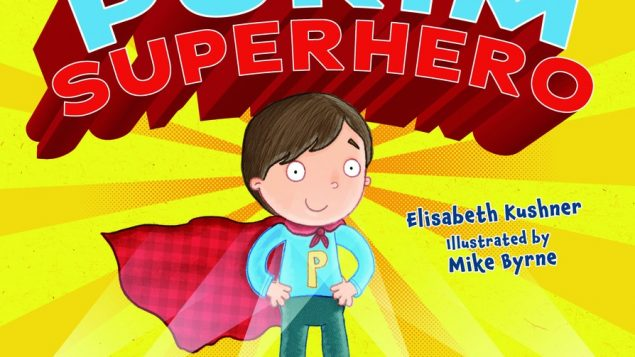 'The author of 'The Purim Superhero' says Purim is all about being who you are. Photo courtesy Keshet