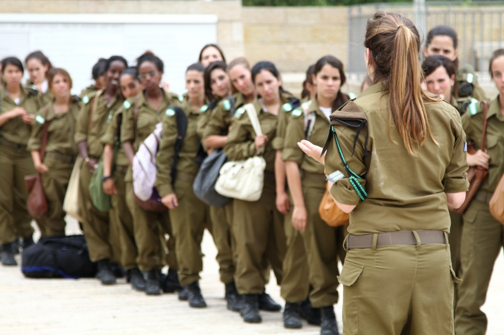 The girl who nearly ran over a cliff in the army | The Times of Israel