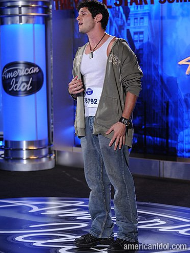 Michael Jade on famed reality show American Idol (Courtesy Michael Jade Facebook)