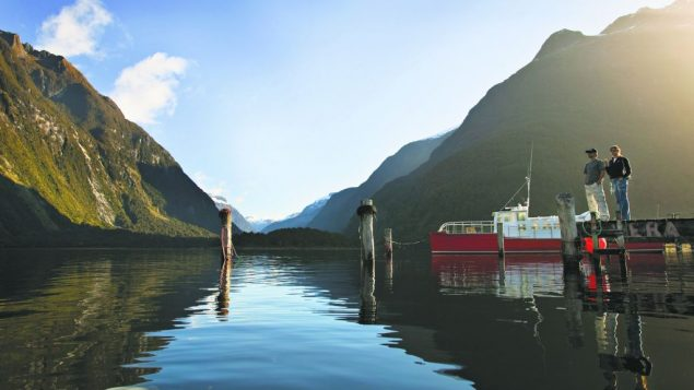 Milford Sound, the best known of the many sounds on New Zealand's South Island. Julian Apse