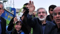 Mir Hossein Mousavi in Tehran, 2009 (photo credit: CC-BY Hamed Saber/Wikimedia Commons)