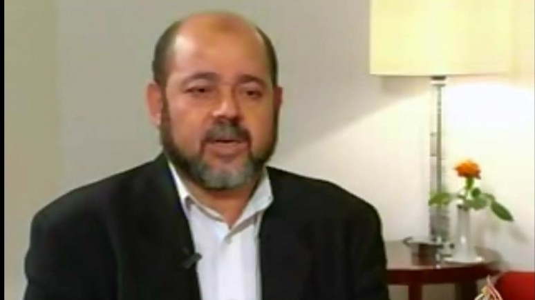 Hamas official Moussa Abu-Marzouq (photo credit: Youtube image grab)