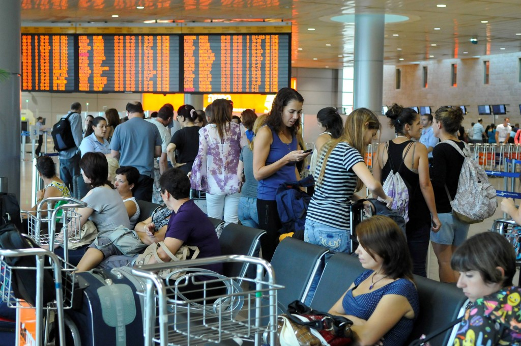 The departure terminal at Ben-Gurion airport. (photo credit: Yossi Zeliger/Flash90)