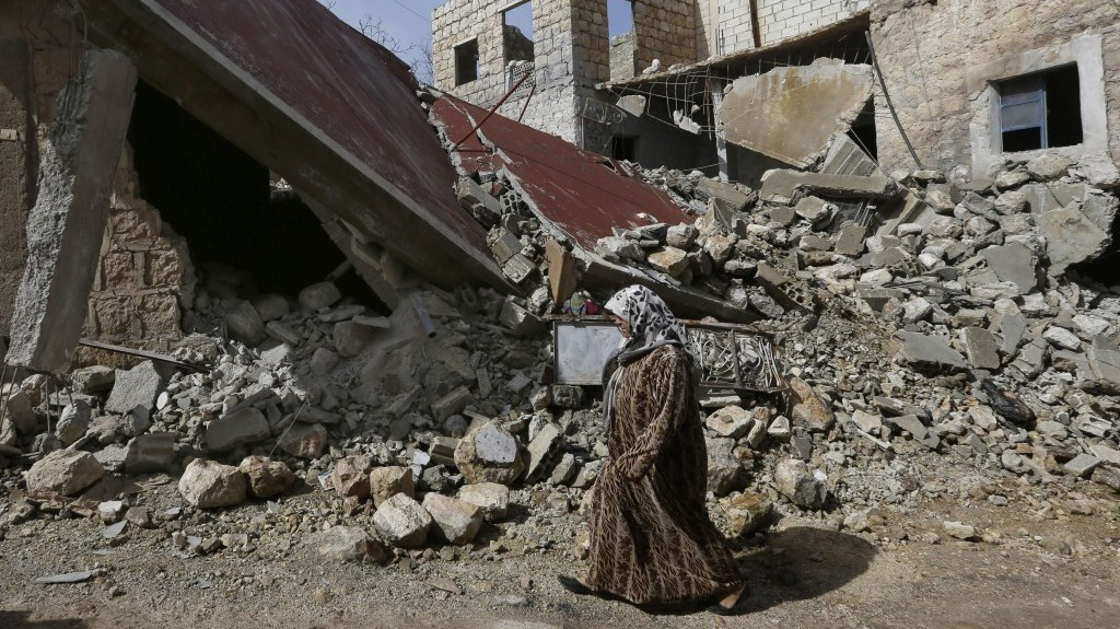 More than 100 killed in Syria air raids in past 10 days ... |Dead Syrians
