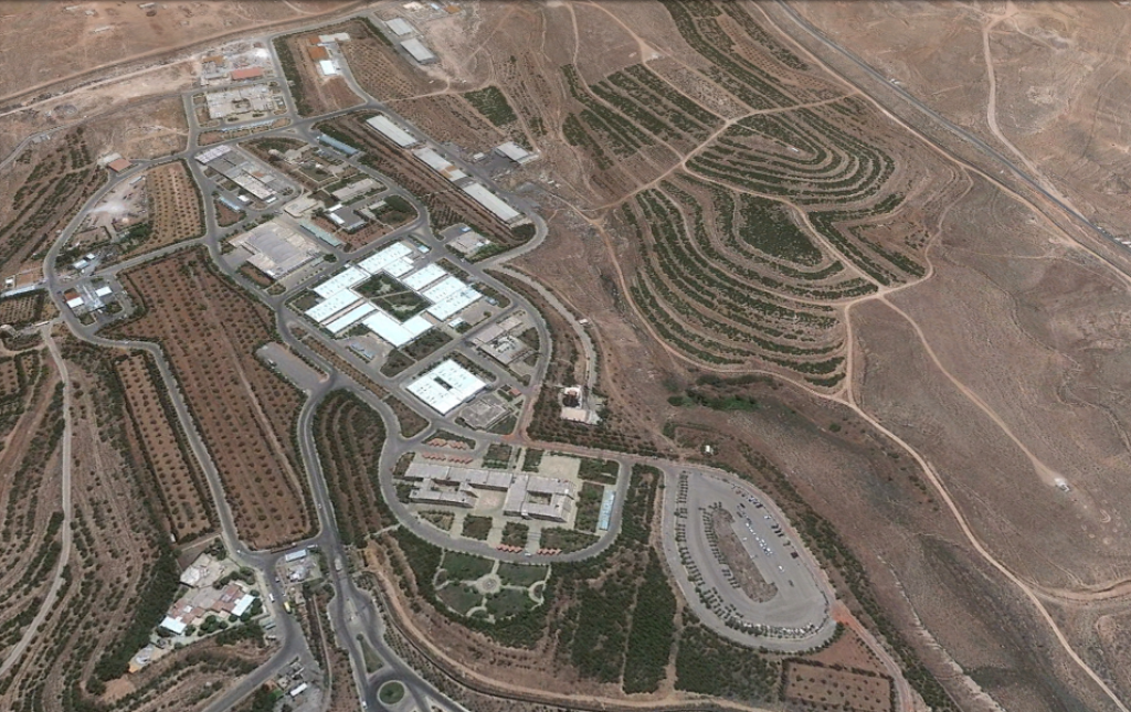 A Google Earth view of a Syrian scientific facility in Jamraya, near Damascus, before it was allegedly struck by Israeli warplanes in late January (photo credit: image capture from Google Earth)