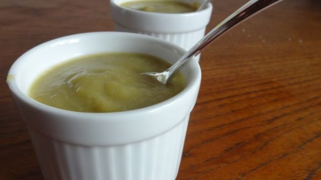 Zucchini and leek soup is chock full of flavor. Amy Spiro