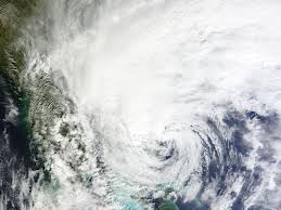Satellite image of Sandy: Storm presented a challange for journalists. Via NASA