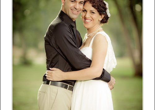 Shelly and Rotem: He proposed by text message.