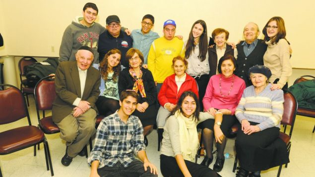 Yeshivah of Flatbush students and survivors collaborate in Witness Theater production. Courtesy of Witness Theater