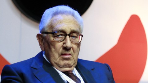 Former US National Security Advisor and Secretary of State Henry Kissinger in Jerusalem, May 2008. (photo credit: Olivier Fitoussi /FLASH90)