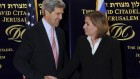 Tzipi Livni (right) and John Kerry, in Jerusalem (photo credit: Matty Stern/U.S. Embassy/Flash90)