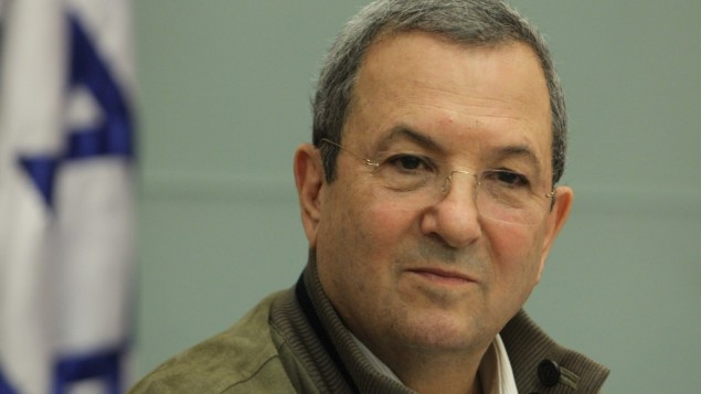Outgoing defense minister Ehud Barak attends a Foreign Affairs and Defense committee meeting in the Knesset earlier this month (photo credit: Miriam Alster/Flash90)