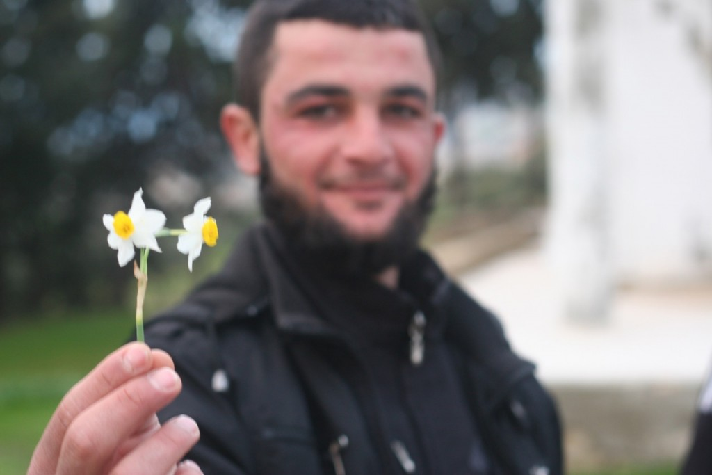 Al-Nusra Front recruit (photo: Eliyahu Kamisher)
