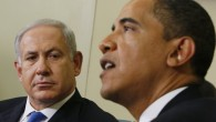 Israeli Prime Minister Benjamin Netanyahu, left, looks towards US President Barack Obama as he speaks to reporters in the Oval Office of the White House in Washington. (AP Photo/Charles Dharapak, File)