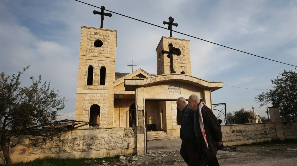 Civil war leaves Syrian minorities with no clear options