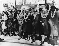 Civil rights marches -- and their subsequent re-enactments -- follow in old footsteps/Shalom Center