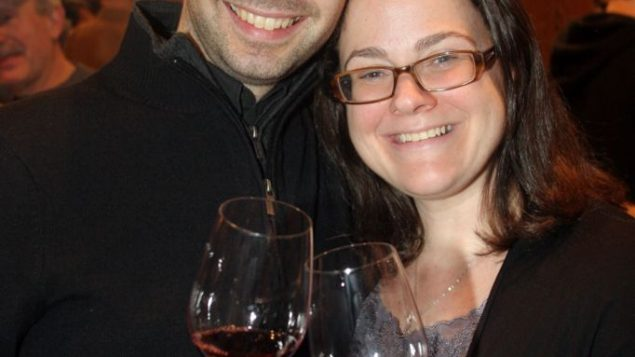 Rebecca Kaplan and Leon Zinger on the one-year anniversary of their meeting. Michael Datikash