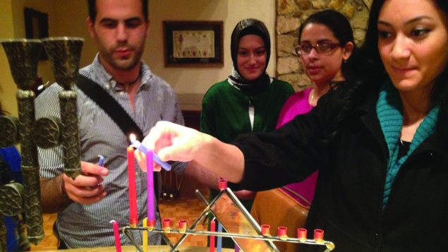 Jewish and Turkish Muslim members of Young Peace Builders have bonded through joint religious and educational programs.