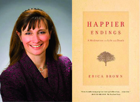 Erica Brown's new book adds touches of humor to a somber discussion of death and dying.