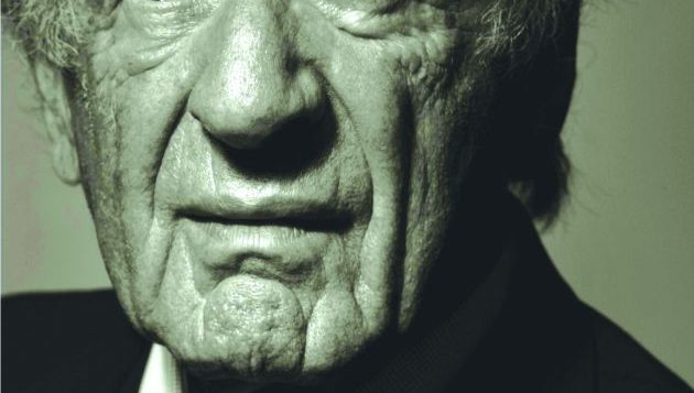 Elie Wiesel: Finds inspiration in a hospital room.