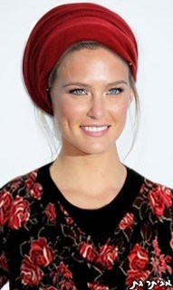 Bar Refaeli turned religious (photo credit: Evyatar Gat/Facebook)