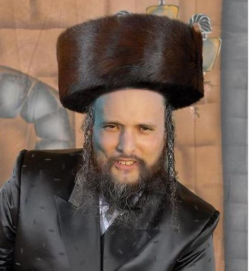 Naftali Bennett as an ultra-Orthodox chasid (photo credit: Dikla Ben Zakri/Facebook)