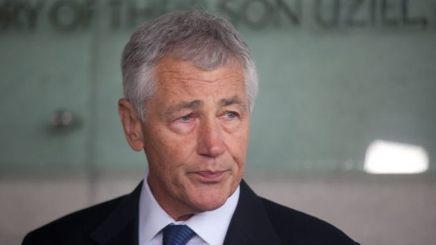 Chuck Hagel has reaffirmed Israel's right to defend itself. Getty Images